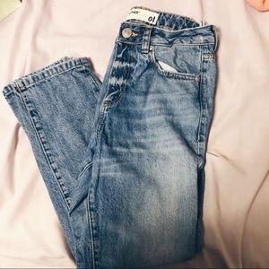 Denim - garage mom jeans
